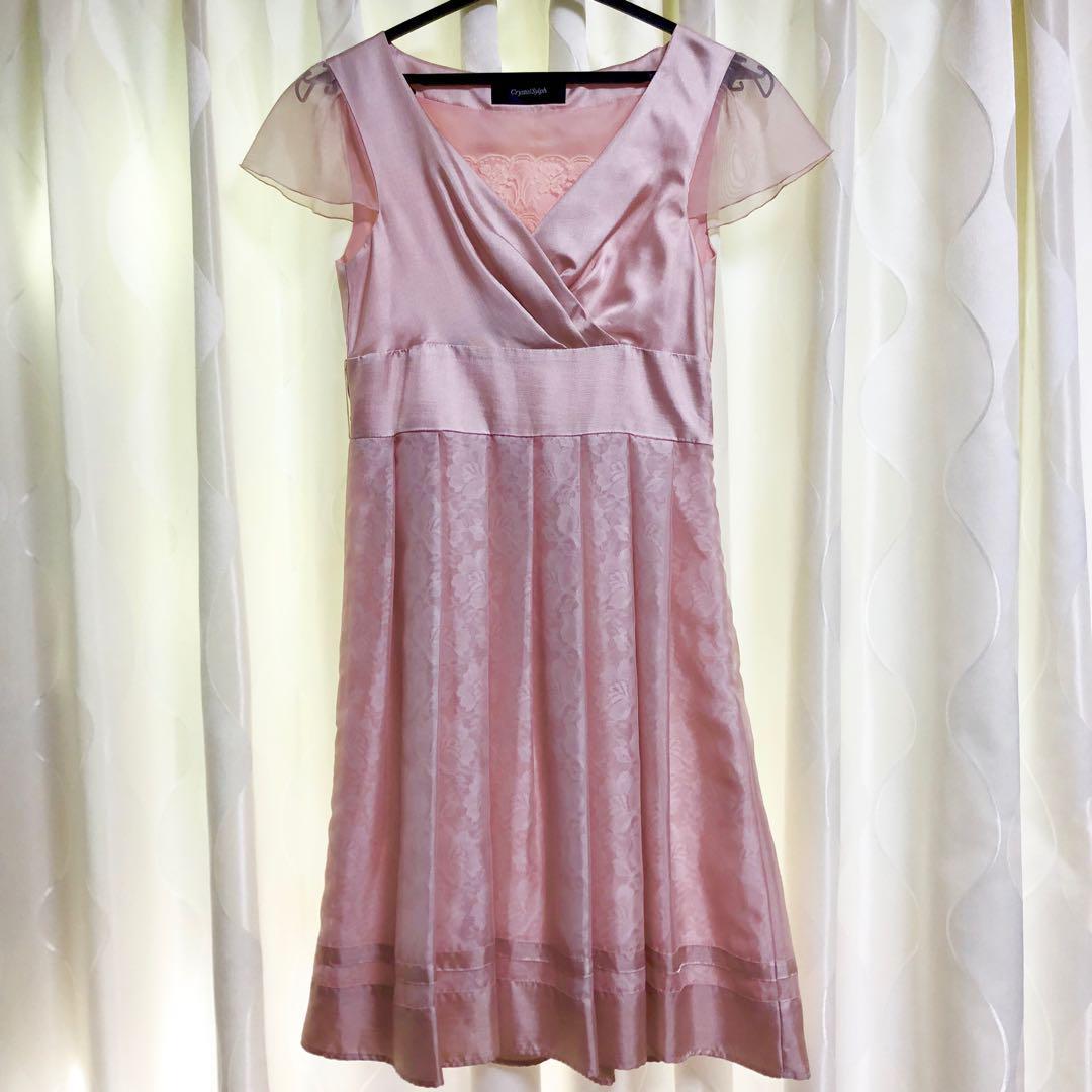 93ba8f76f29ec メルカリ -  美品 マルイ パーティー ドレス ピンク Sサイズ ...