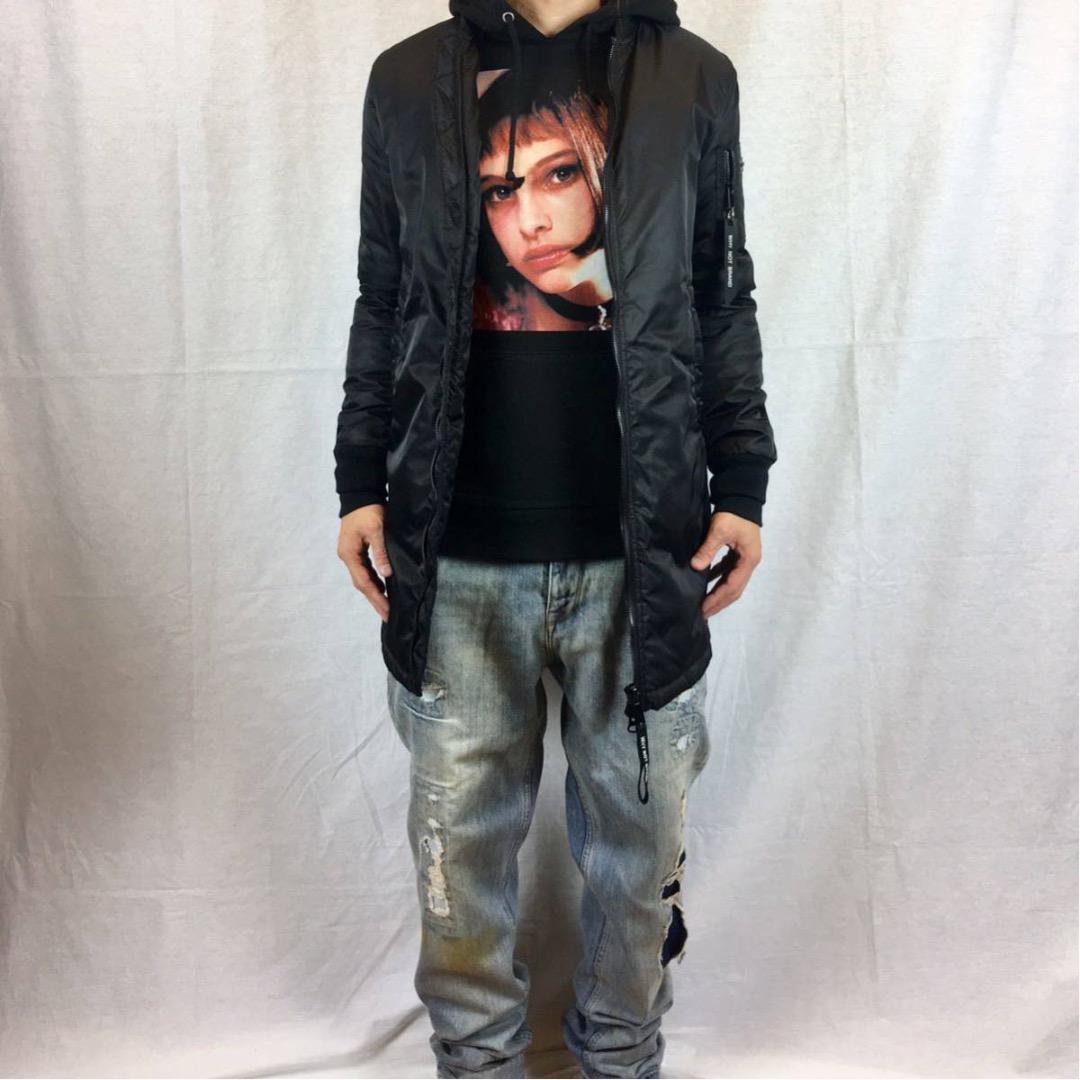 068a91b966700 メルカリ - 新品 映画 LEON レオン マチルダ 黒 パーカー XS S M L XL ...