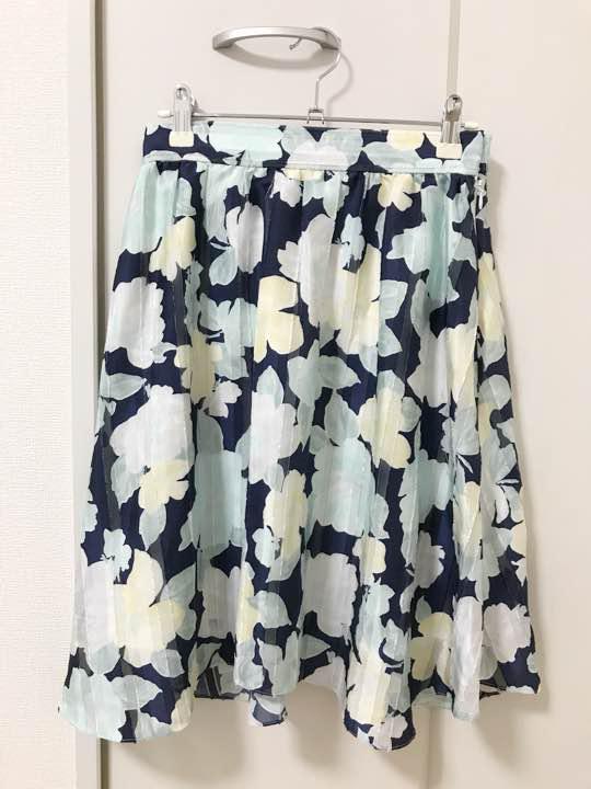 花柄スカート ウィルセレクション トロピカルプリント(¥700) メルカリ スマホでかんたん フリマアプリ