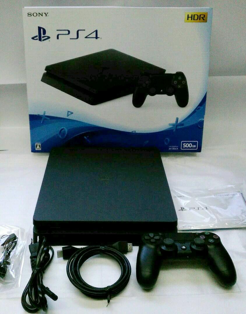 SONY CUH-2200AB01 未使用 ブラック プレイステーション4 500GB 【中古】