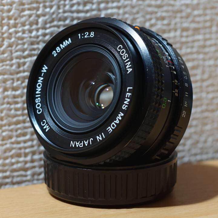 【完動品】COSINA MC COSINON-W 28mm f2 8 Kマウント(¥ 5,800) - メルカリ スマホでかんたん フリマアプリ