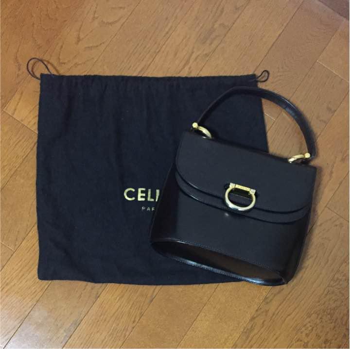 cee494c523d4 メルカリ - 美品 セリーヌ CELINE ガンチーニ バッグ bag ヴィンテージ ...