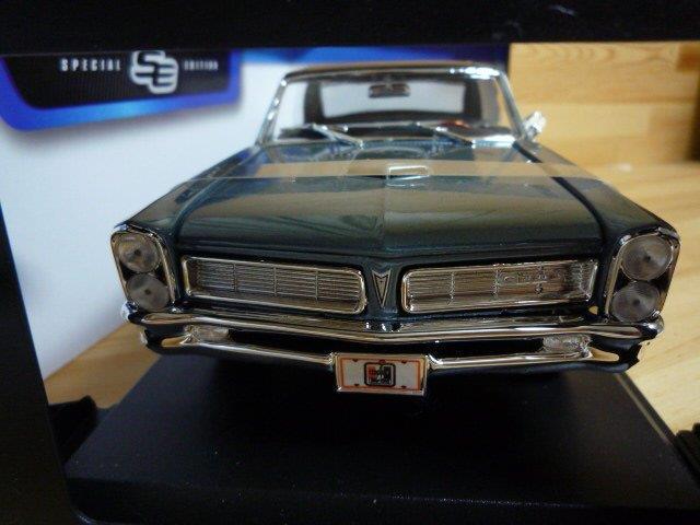 1965 Pontiac Gto 1 18 blu
