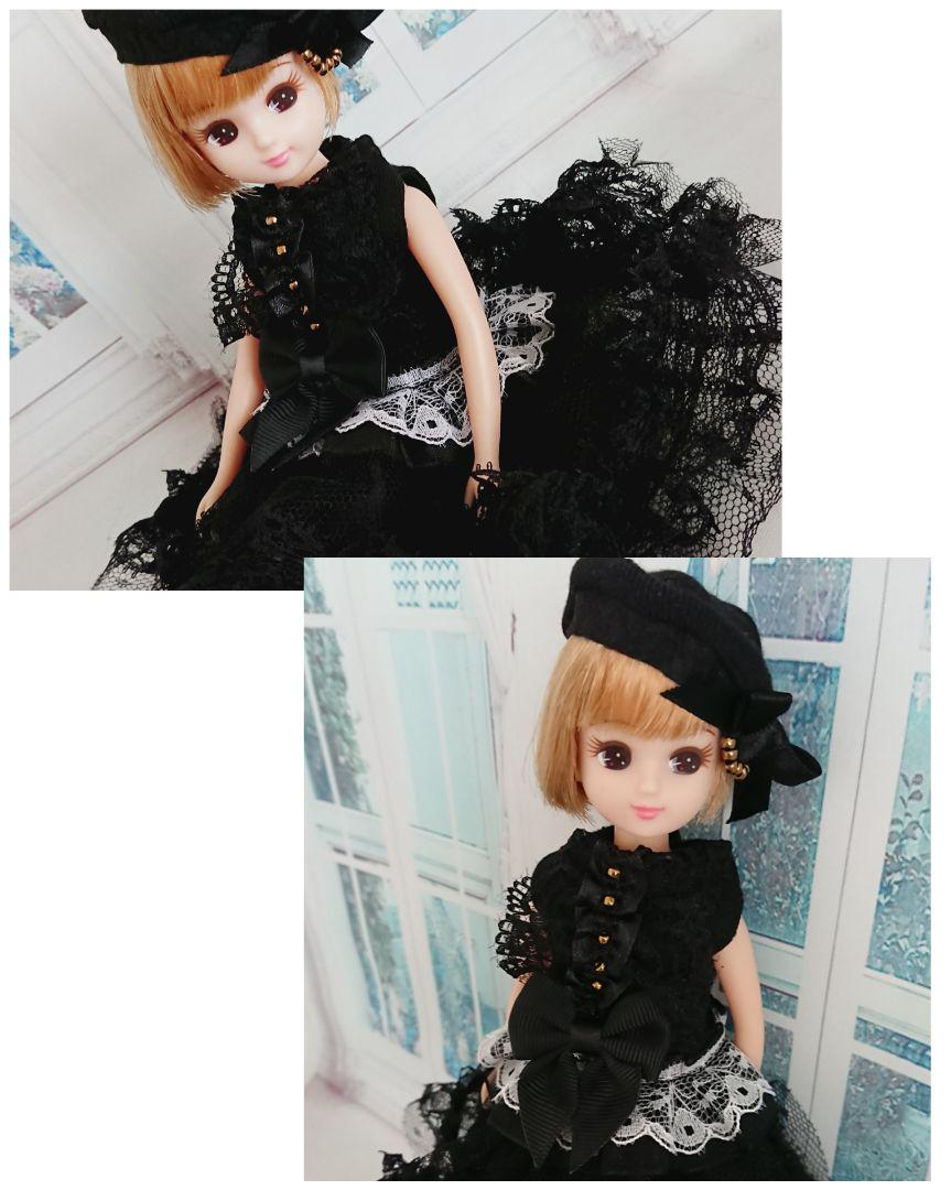 ce065111fd9c9 メルカリ - リカちゃん 服 ゴシックロリータ 3点セット  おもちゃ 人形 ...