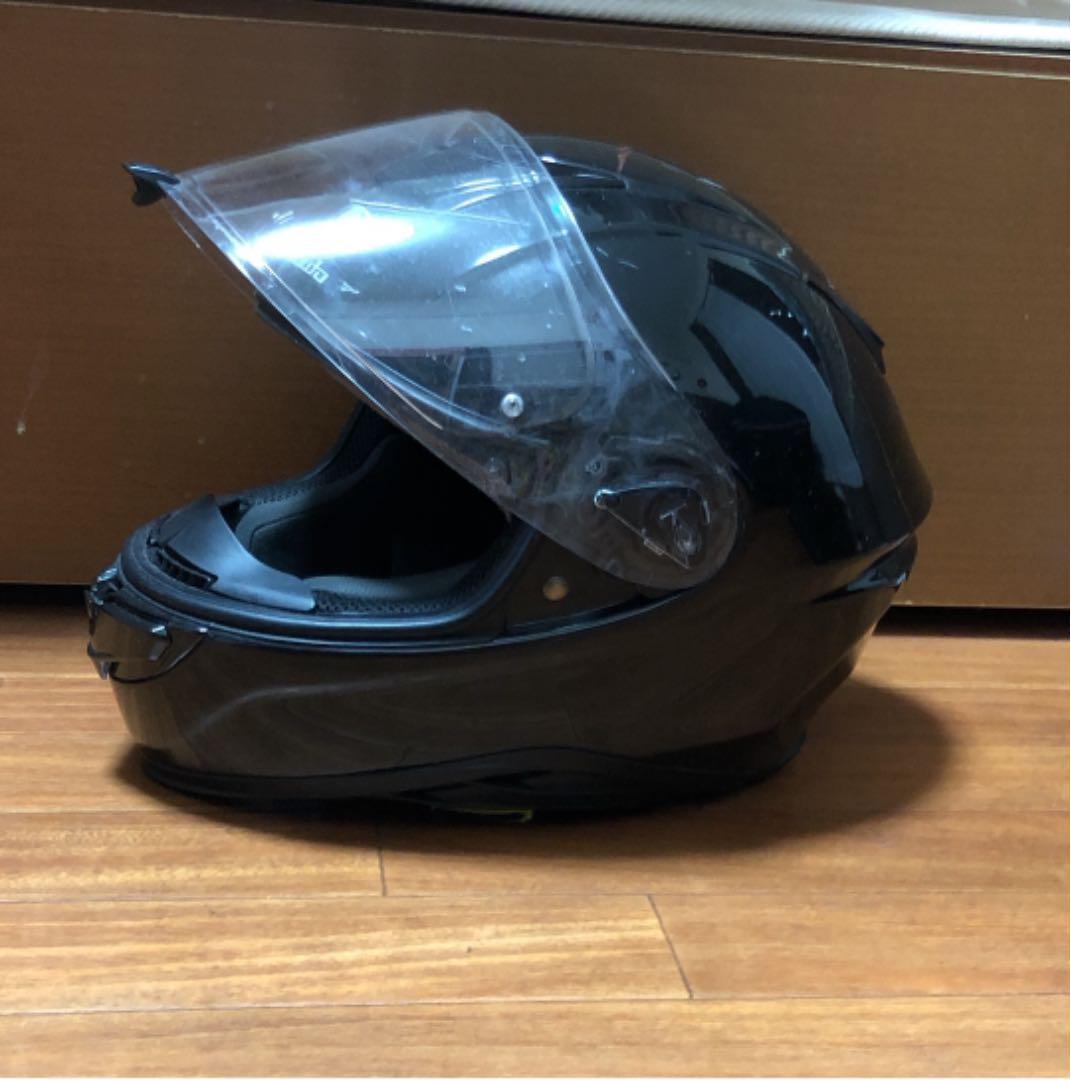ヘルメット シールド 傷