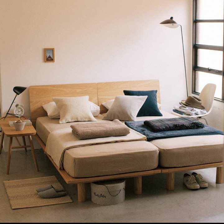 無印 良品 ベッド ベッドフレーム   無印良品 - MUJI