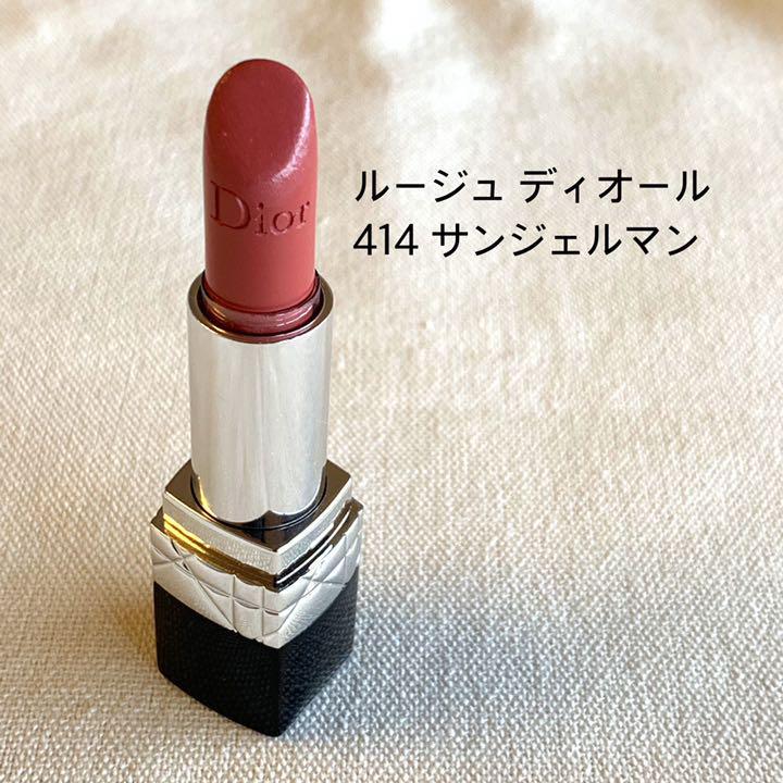 separation shoes 06399 685bd ルージュ ディオール 414 サンジェルマン(¥1,200) - メルカリ スマホでかんたん フリマアプリ