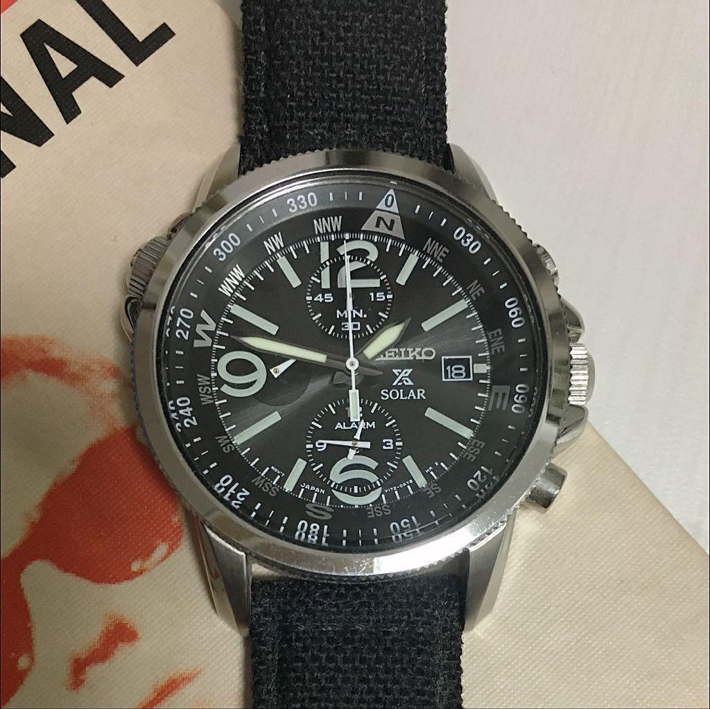 promo code 4b41f e9e52 セイコー SEIKO クロノグラフ 腕時計(¥10,000) - メルカリ スマホでかんたん フリマアプリ
