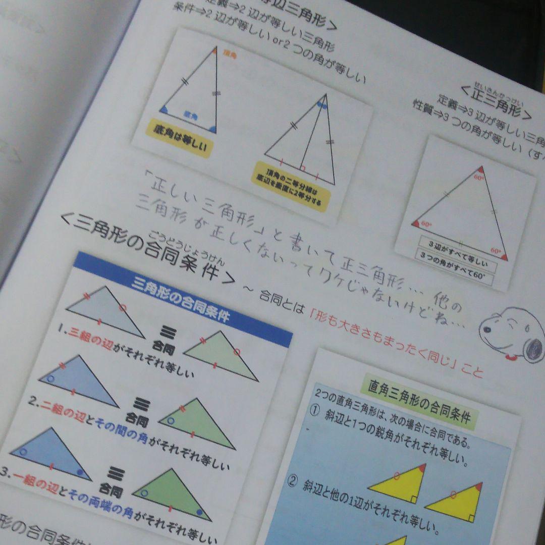 分 角 の 二 性質 等 線