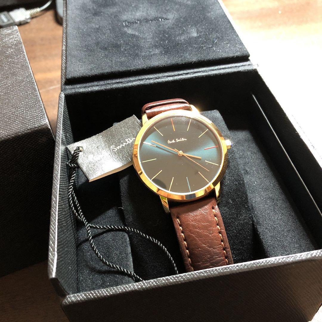 buy online f7152 7cb03 Paul Smith ポールスミス 腕時計 時計 P10056 ケース付き(¥9,500) - メルカリ スマホでかんたん フリマアプリ