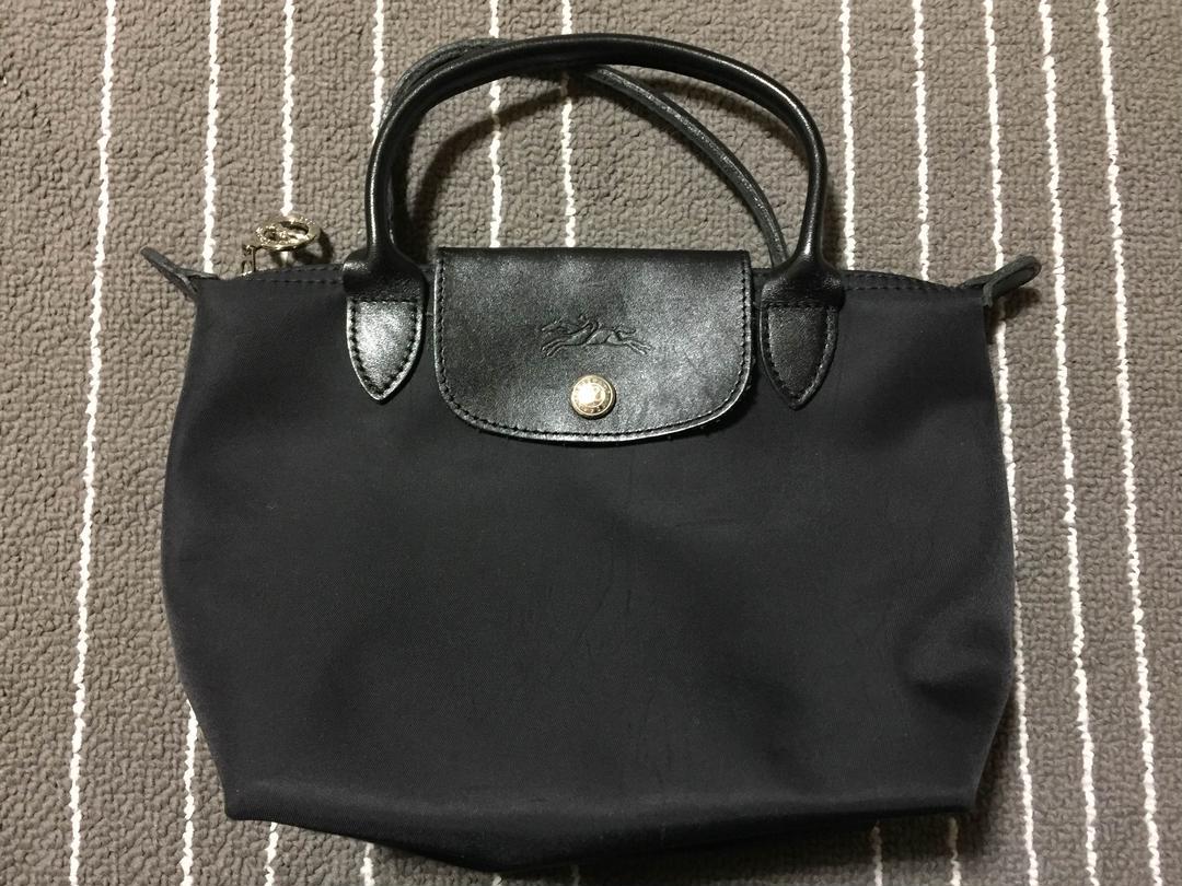 0ee3fe9a036c メルカリ - Longchamp | プラネット ミニ黒 【トートバッグ】 (¥4,000 ...