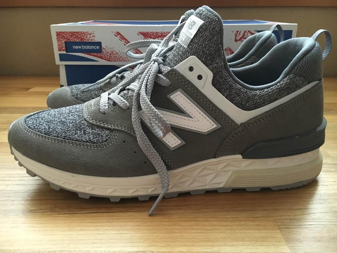 sports shoes a2dbb 38096 New Balance MS574BG GRAY ニュー バランス グレー(¥8,500) - メルカリ スマホでかんたん フリマアプリ