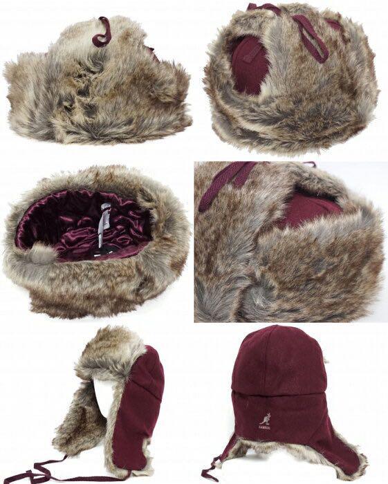 3ced6f303b2f6 メルカリ - kangol Wool Ushanka Trapper earflap hat  帽子  (¥5