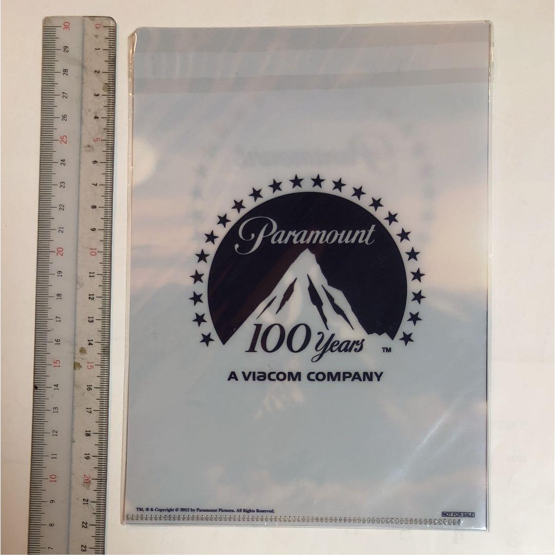 メルカリ - 未開封 パラマウント映画 100周年記念クリアファイル ...