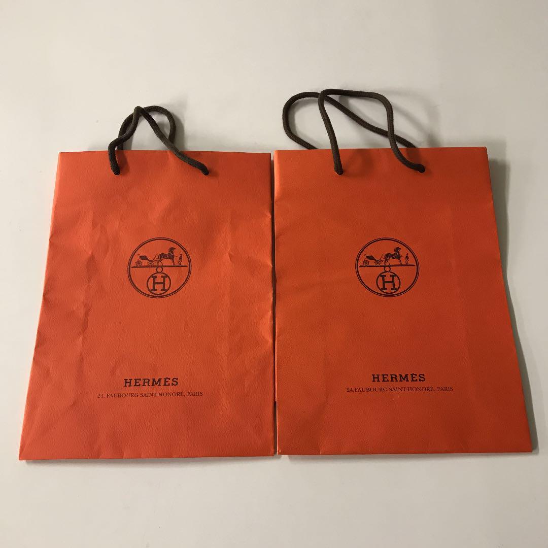 fcd326bb53d0 メルカリ - HERMES エルメス 紙袋 ショッパー シャネル 【ショップ袋 ...