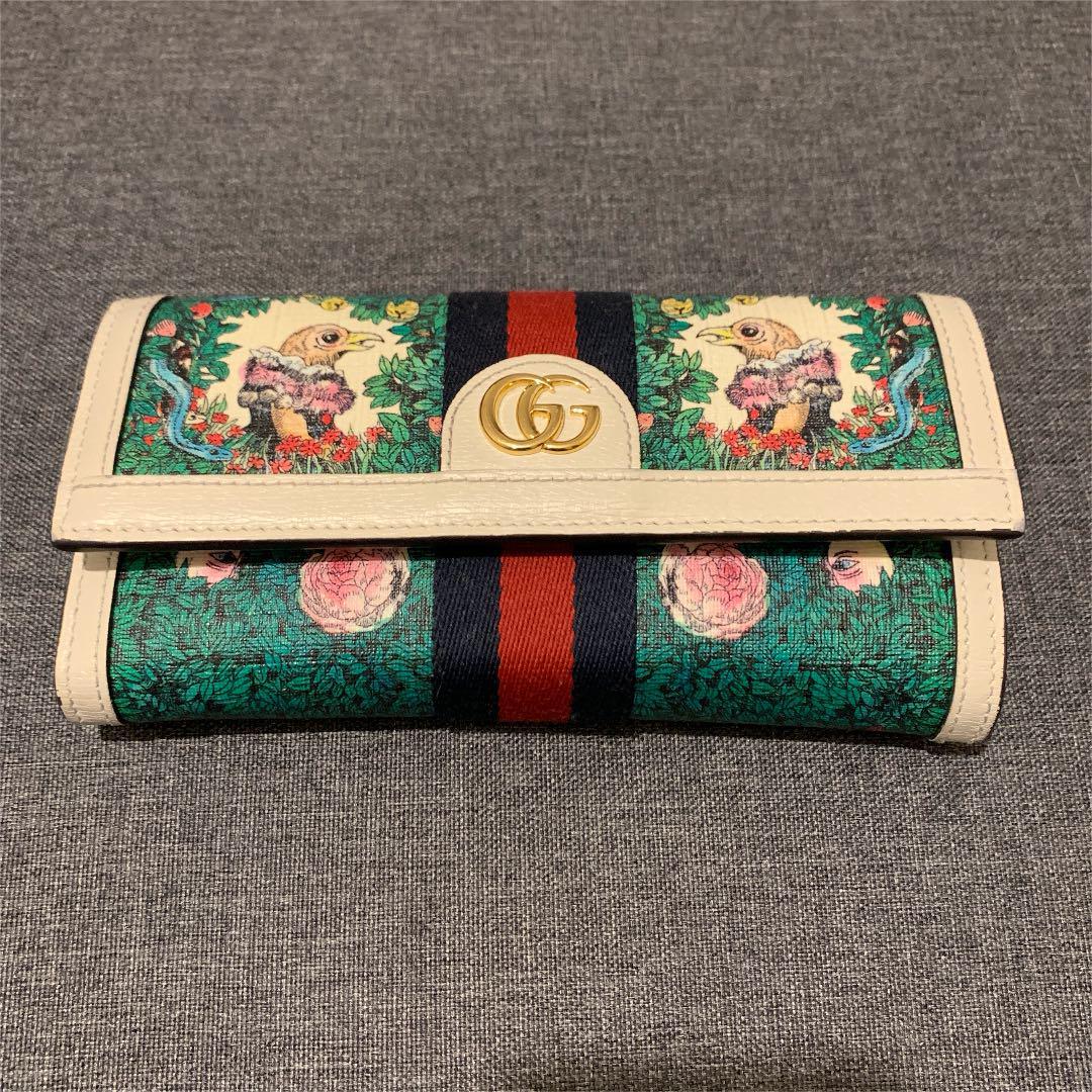 newest a99ab 0a910 GUCCI ヒグチユウコ コラボ財布(¥93,800) - メルカリ スマホでかんたん フリマアプリ