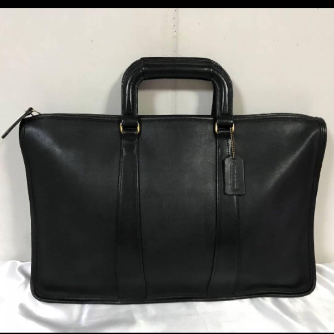 54133c16be62 メルカリ - 美品本物オールドコーチCOACH本革レザービジネスバッグ ...