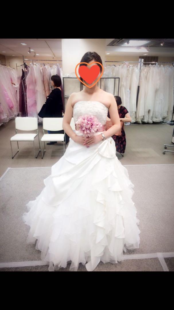 dd6672f8a5f73 メルカリ - ‼ ウェディングドレス (¥18