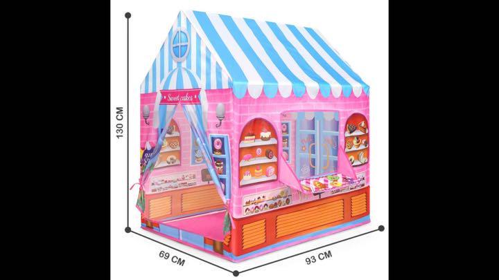 d52b699f4962bb テント 子供 女の子 おもちゃ 完全新品 折り畳み式 ポータブル 玩具収納