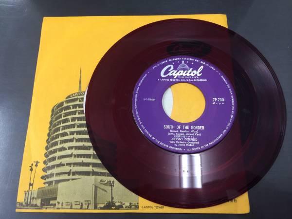 メルカリ - EP レコード ジョニー・ディアフィールド 悲しき少年兵 赤 ...