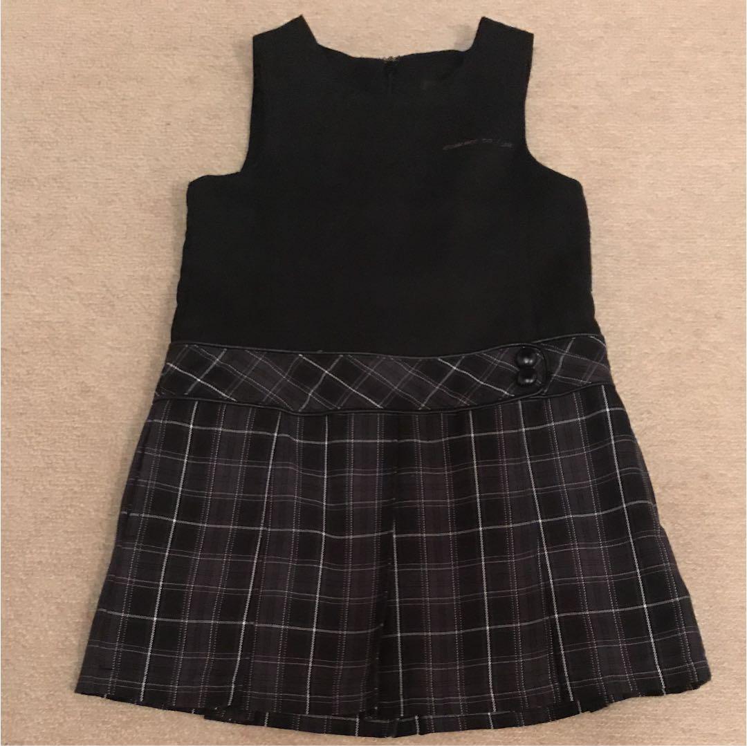 9a637f802268f メルカリ - コムサイズム フォーマルワンピース 100  フォーマル ドレス ...