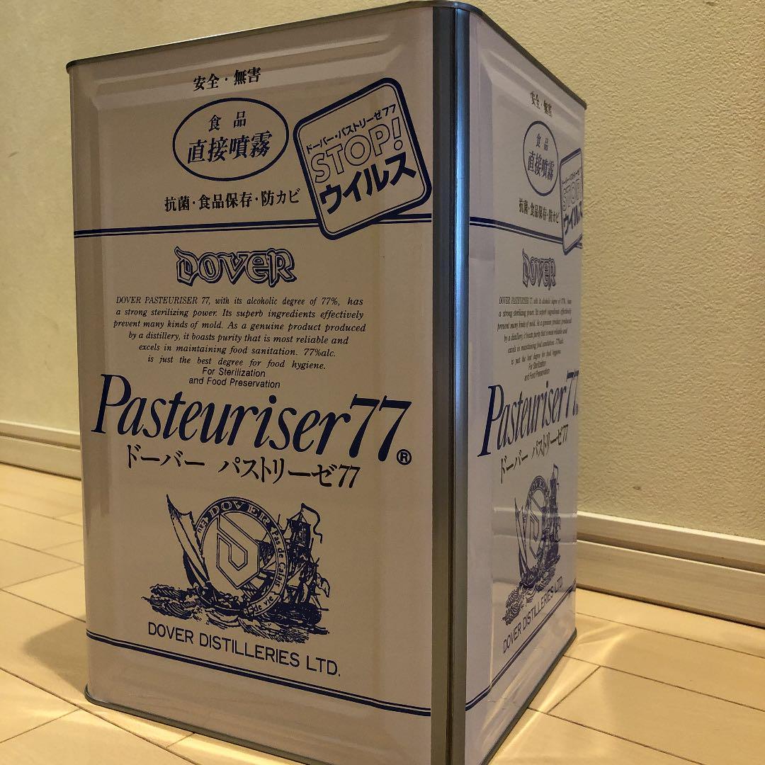 パストリーゼ 一 斗 缶 ドーバー ドーバー パストリーゼ77