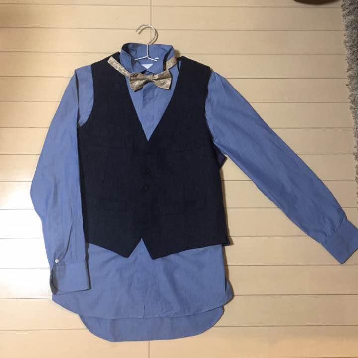 d136808cd9253 メルカリ - 結婚式二次会衣装 新郎 3点セット  シャツ  (¥10