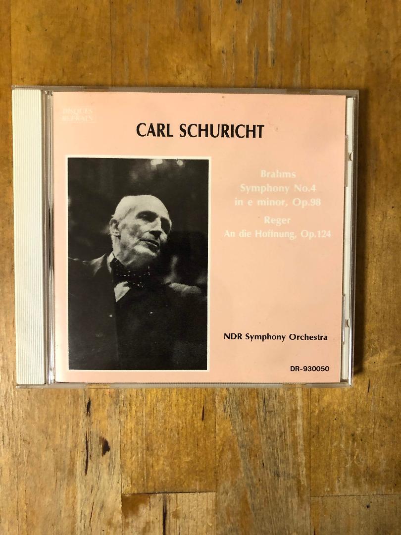 メルカリ - ブラームス 交響曲第4番 シューリヒト(指揮)、NDR放送 ...
