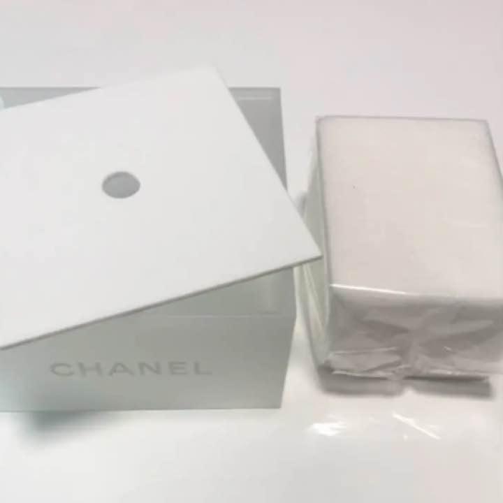 premium selection c0c80 60ebc 【がっきー様♡】CHANEL コットンケース(¥ 3,600) - メルカリ スマホでかんたん フリマアプリ