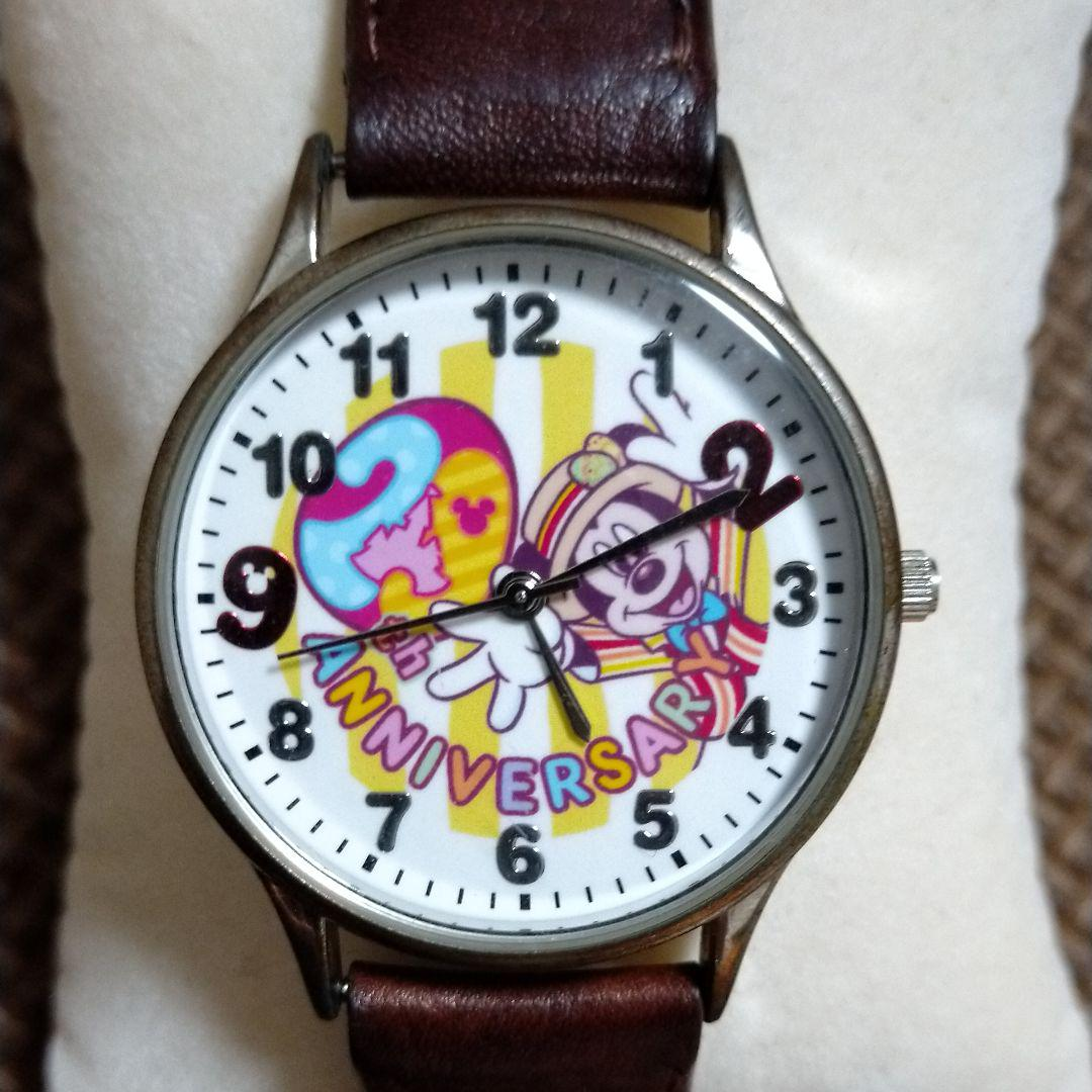 buy popular 736f6 3afa6 ディズニーランド 29周年記念時計(¥3,000) - メルカリ スマホでかんたん フリマアプリ