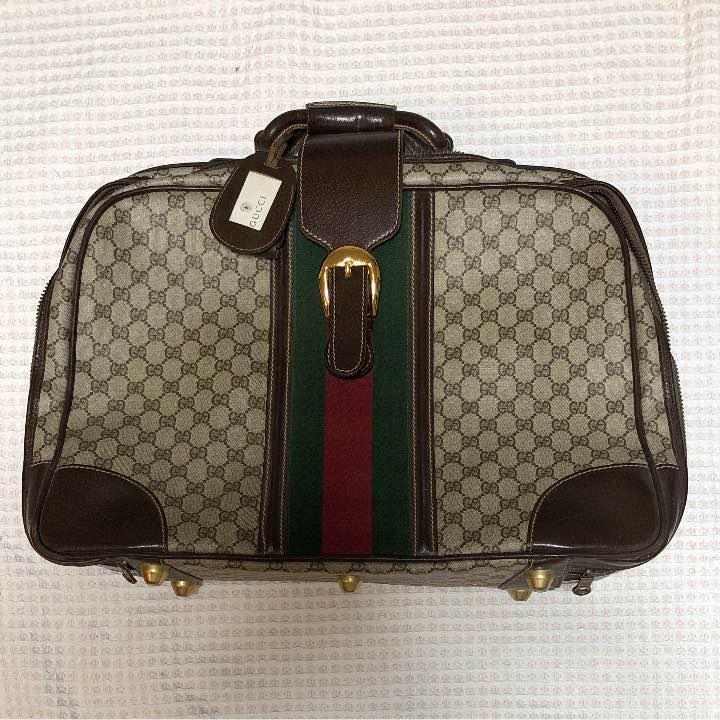 hot sale online 12cde 22688 GUCCI トランク スーツケース(¥39,000) - メルカリ スマホでかんたん フリマアプリ