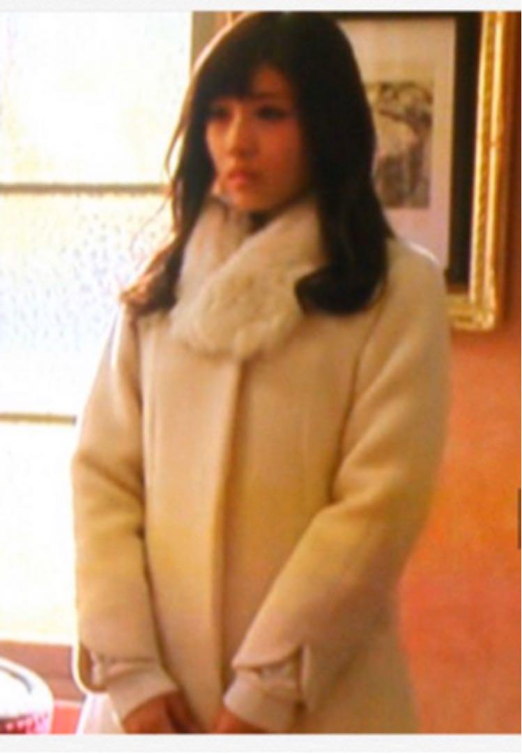 メルカリ ミッシュマッシュ コート 失恋ショコラティエ 石原さとみ着用 ロングコート 12 800 中古や未使用のフリマ