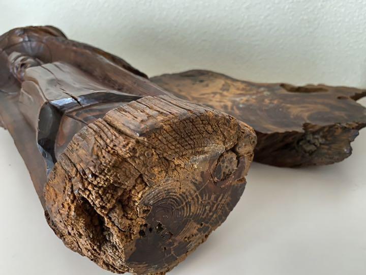 木彫り 一刀彫の観音菩薩 浮彫 骨董品