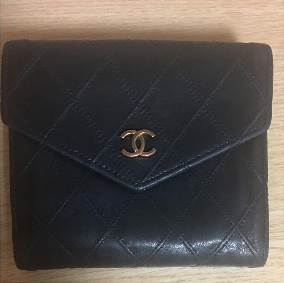7dafb75393e6 メルカリ - CHANEL シャネル マトラッセ 二つ折り財布 【シャネル ...