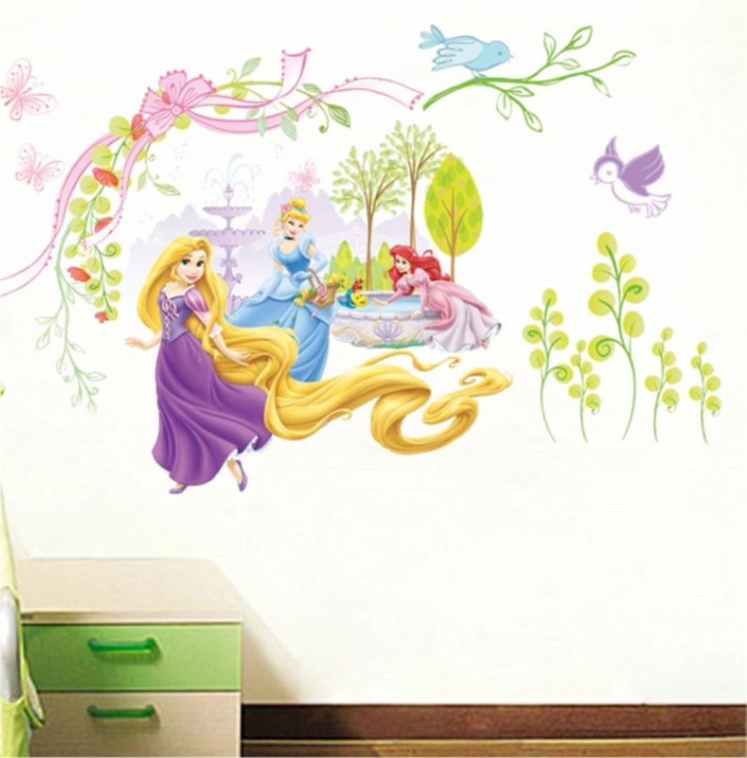 メルカリ 子ども部屋 家具 デコレーション ディズニープリンセス