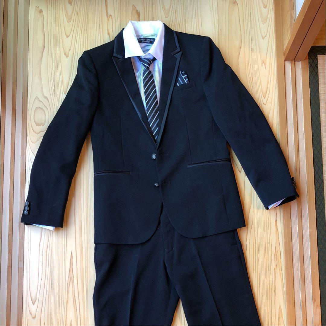 b6e339a2d8e28 メルカリ - ミチコロンドン スーツ 160 男の子  フォーマル ドレス ...