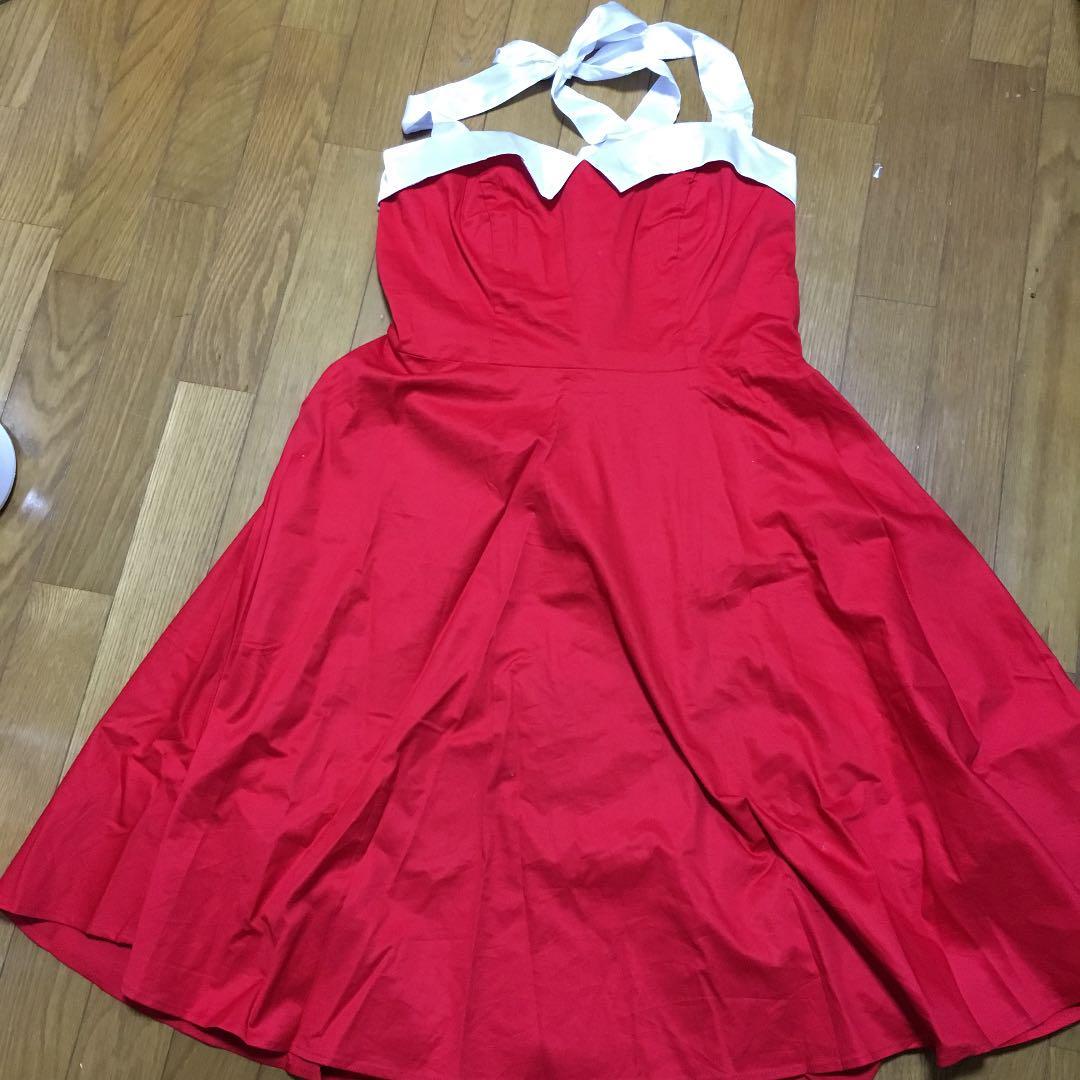 dressystar 赤ドレス