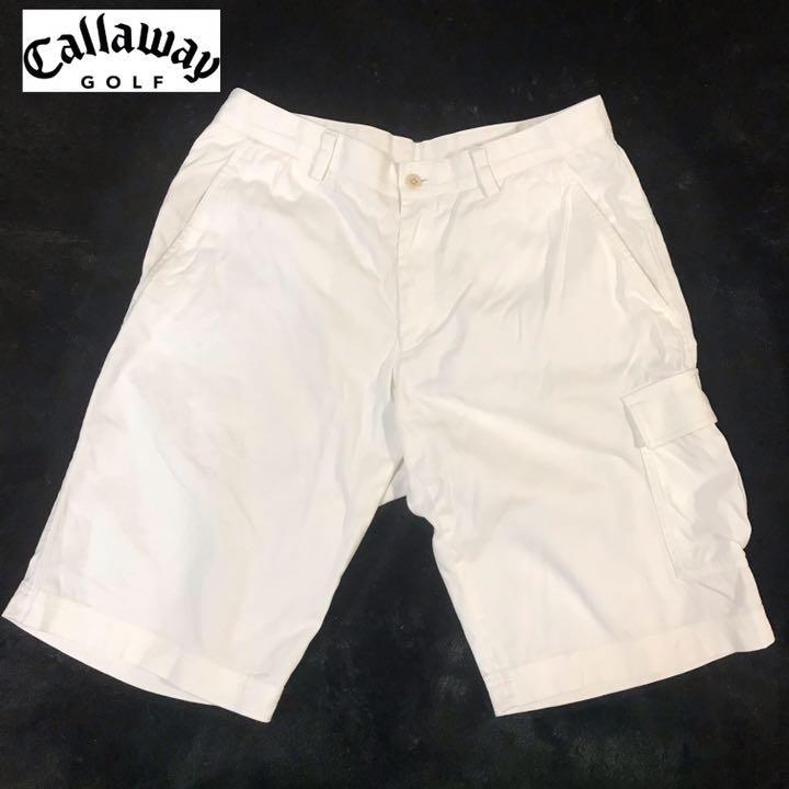 01fef890cca97 メルカリ - 【Callaway】キャロウェイゴルフ ショートパンツ ハーフ ...