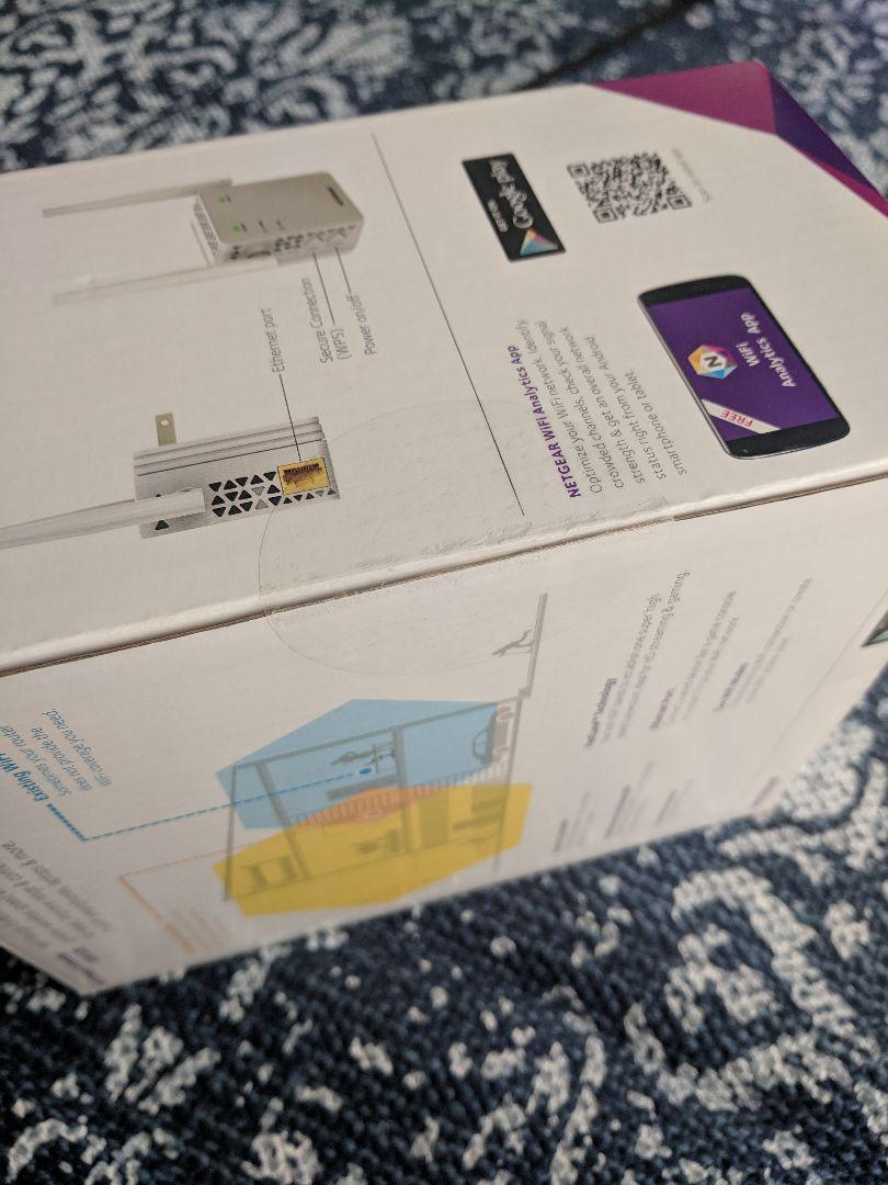 【未開封新品】NETGEAR WiFi中継機 信吾増幅機 EX6120-100(¥ 3,099) - メルカリ スマホでかんたん フリマアプリ