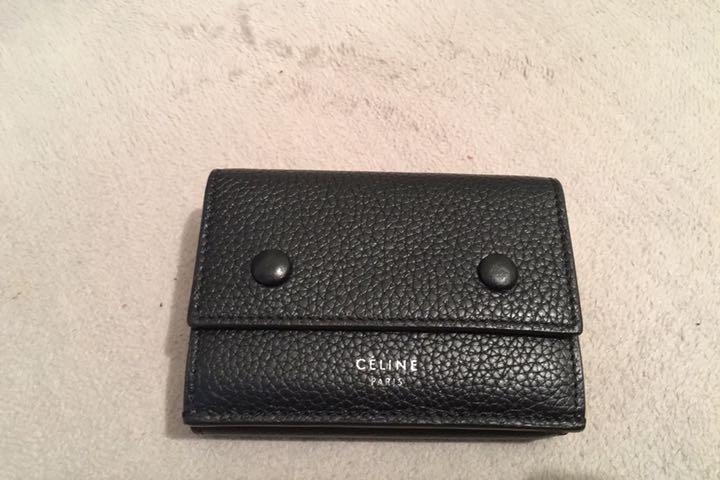 competitive price 97c4a a0b91 CELINE フォールデッドコンパクト ミニ財布(¥45,000) - メルカリ スマホでかんたん フリマアプリ