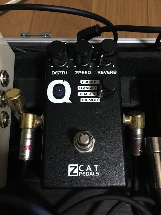 Zcat pedals Q-Mod リバーブ/マルチモジュレーション z cat(¥ 16,000) - メルカリ スマホでかんたん フリマアプリ