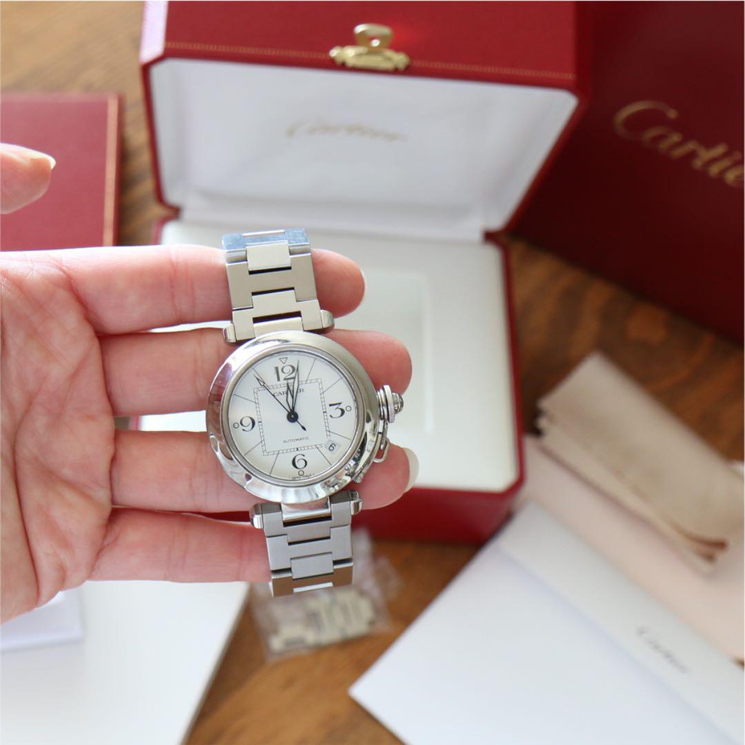 quality design 02b80 9609d 【オーバーホール済み】カルティエ パシャC ユニセックス 腕時計(¥198,000) - メルカリ スマホでかんたん フリマアプリ