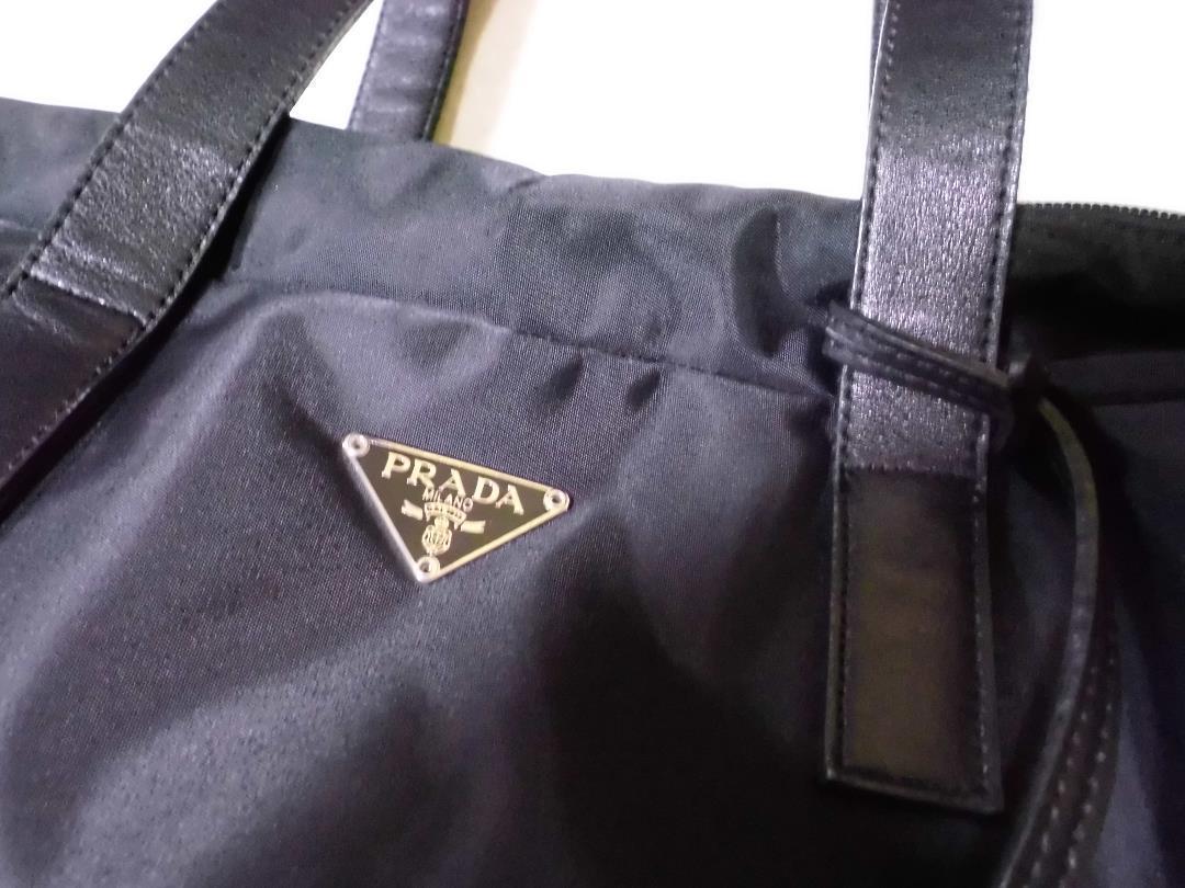 1f090d9dcb8c メルカリ - 【にょん 】プラダ ショルダートートバッグ ナイロン 正規品 ...