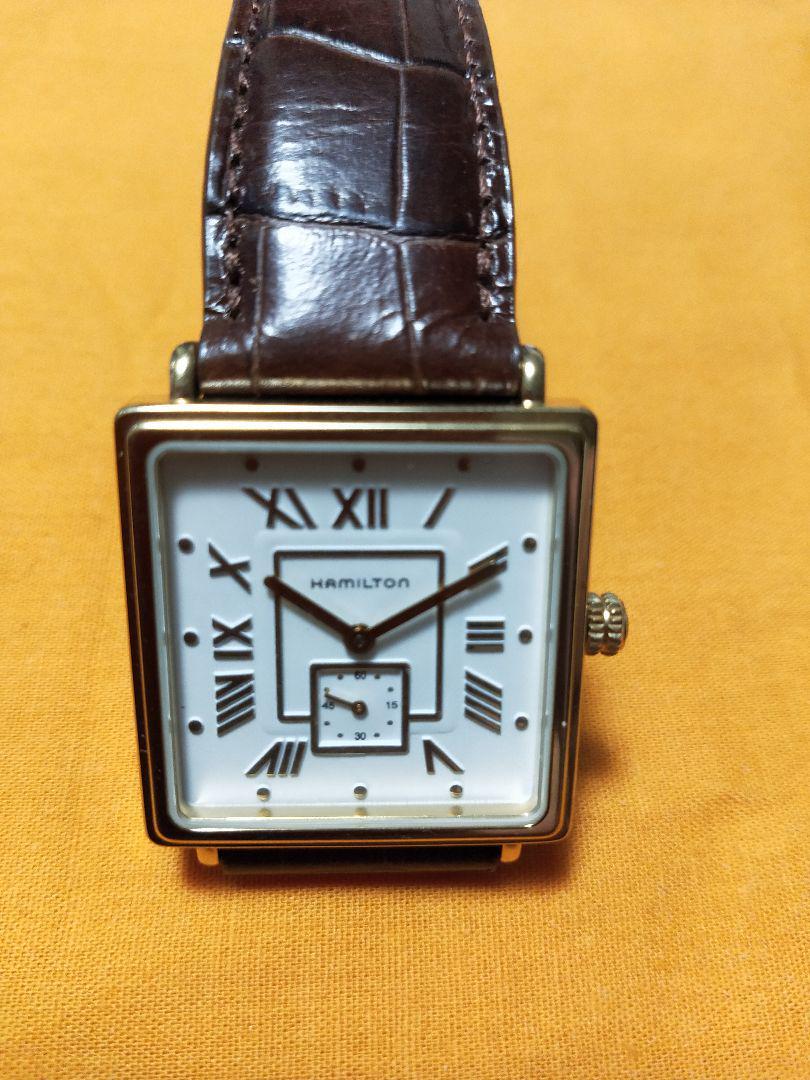 brand new 00297 d5f11 ハミルトン スクエアライン 腕時計(¥18,500) - メルカリ スマホでかんたん フリマアプリ