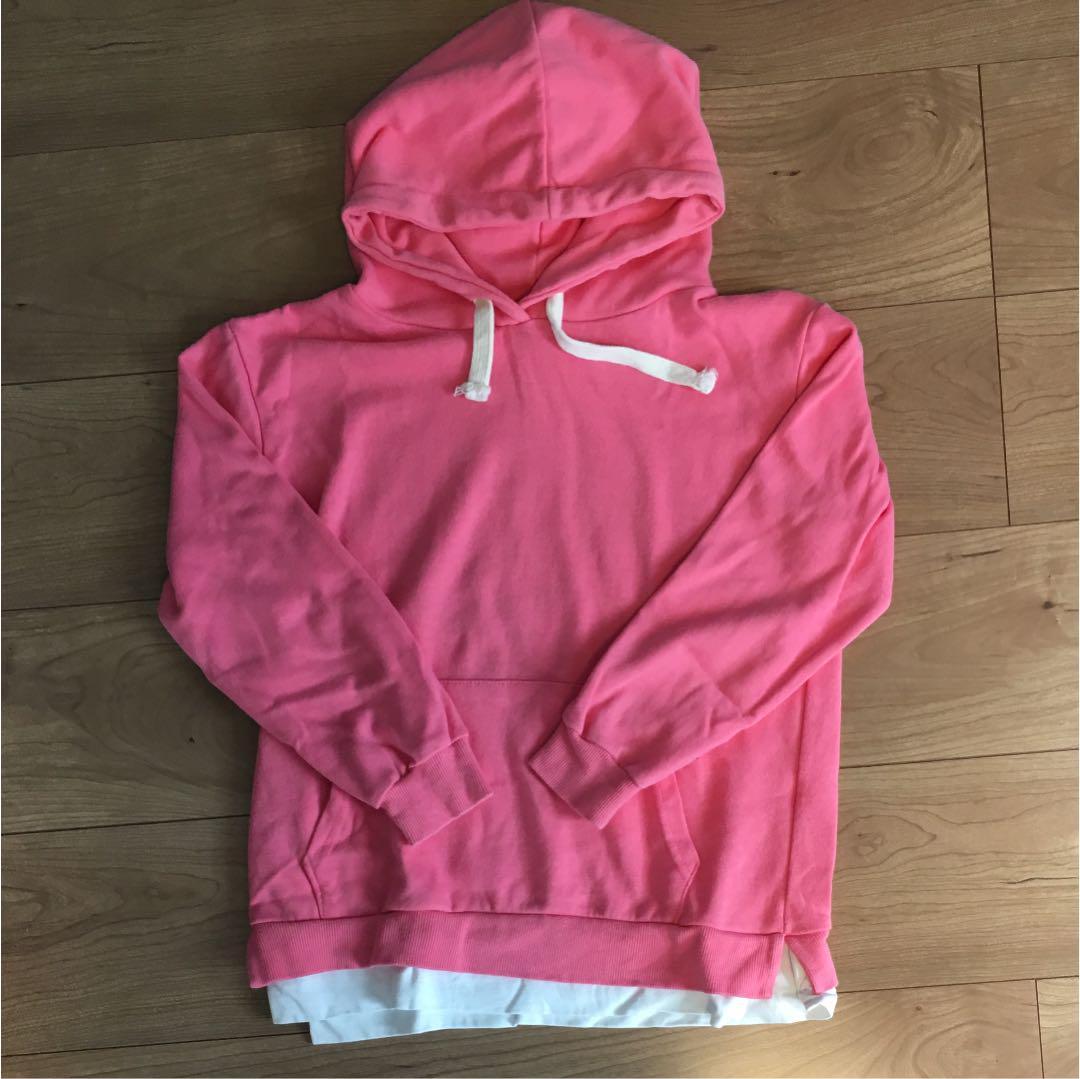 d6f149c9175 メルカリ - 可愛いピンクのパーカー 韓国子供服 13 140 【トップス ...