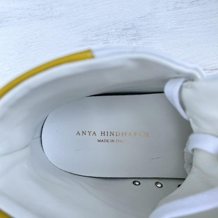 アニヤハインドマーチ 日本限定Winkハイカットスニーカー(正規品)