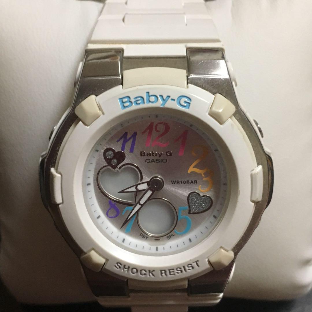new arrival 3680f 4e7be CASIO Baby-G カシオ ベビージー 時計 腕時計 白 ホワイト(¥2,000) - メルカリ スマホでかんたん フリマアプリ