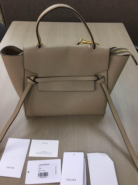 81a5ece00995 メルカリ - セリーヌ 人気 ベルトバッグ 【ショルダーバッグ】 (¥157,000 ...