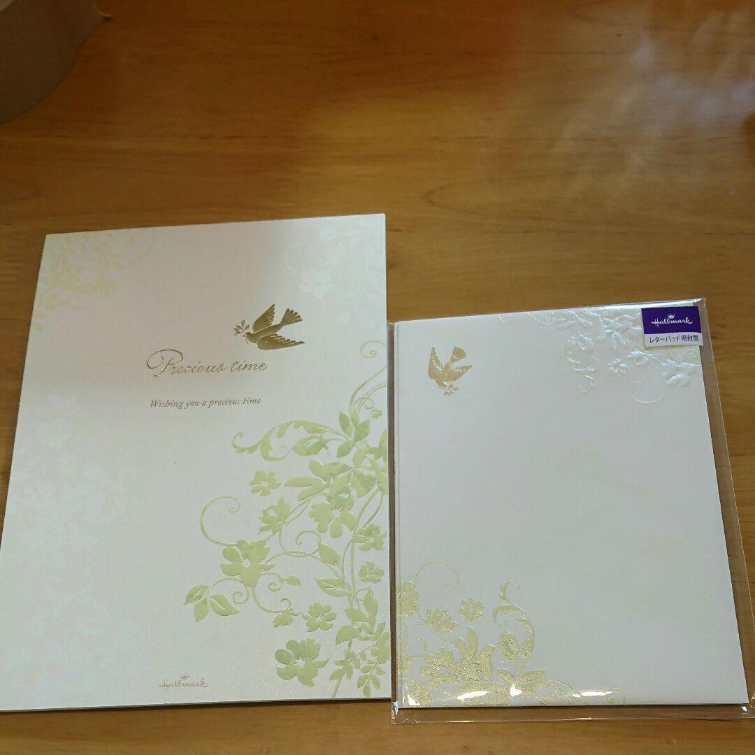 便箋と封筒セット 結婚式 HALLEMARK(¥780) , メルカリ スマホでかんたん フリマアプリ