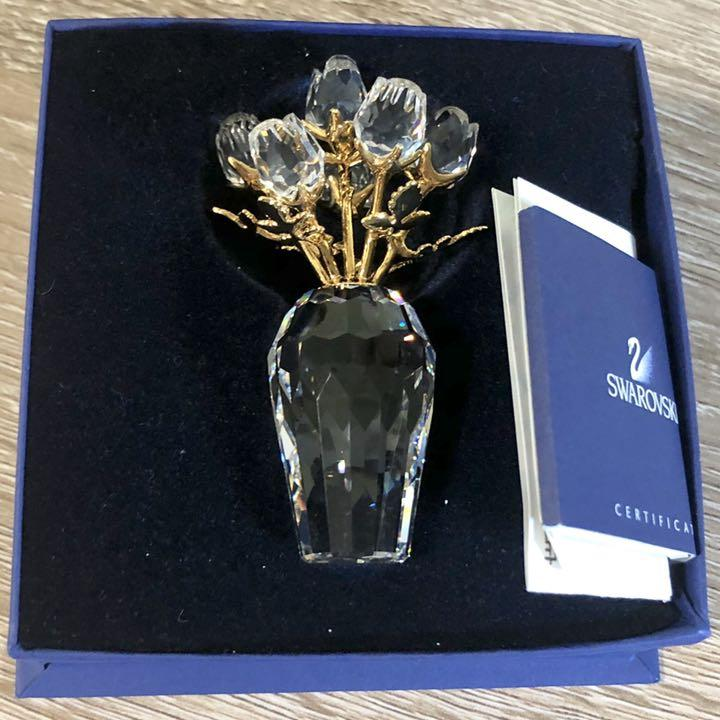 buy online fae55 d2dbf メルカリ - スワロフスキー フラワーモチーフ バラ 置物 (¥7,000 ...
